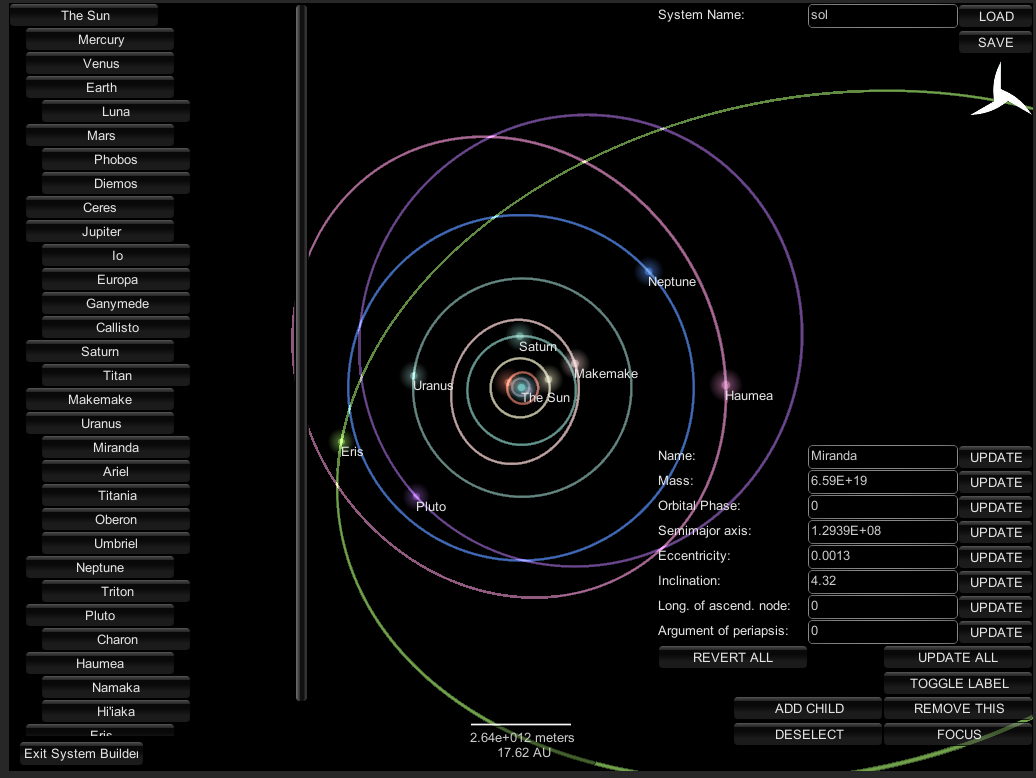 solar system maps simulations-#12